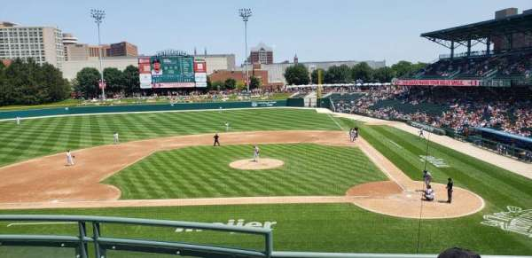Victory Field, section: 207, row: C, seat: 11