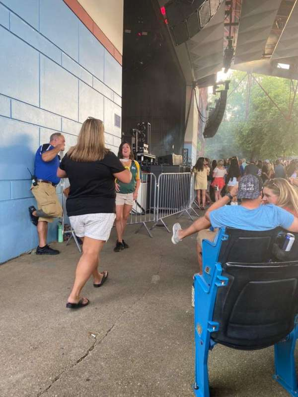 Riverbend Music Center, section: 100, row: E, seat: 126
