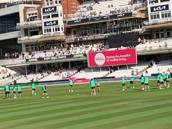 Kia Oval, section: JM Finn Stand 6, row: 16, seat: 163