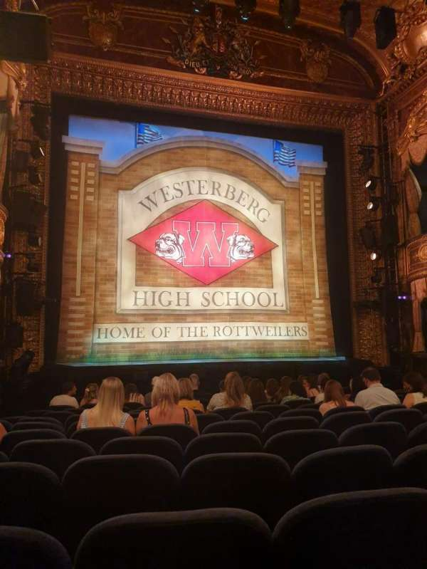Theatre Royal Haymarket, section: Stalls, row: O, seat: 16