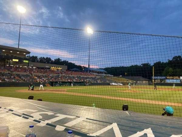 Prince George's Stadium, section: 113, row: C, seat: 8