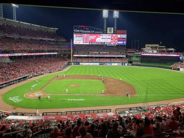 Great American Ball Park, section: 302, row: M, seat: 17