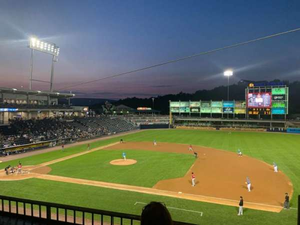 PNC Field, section: 200, row: 2, seat: 1
