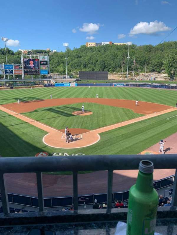 PNC Field, section: 205, row: 1, seat: 8