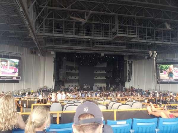 PNC Music Pavilion, section: 7, row: M, seat: 23