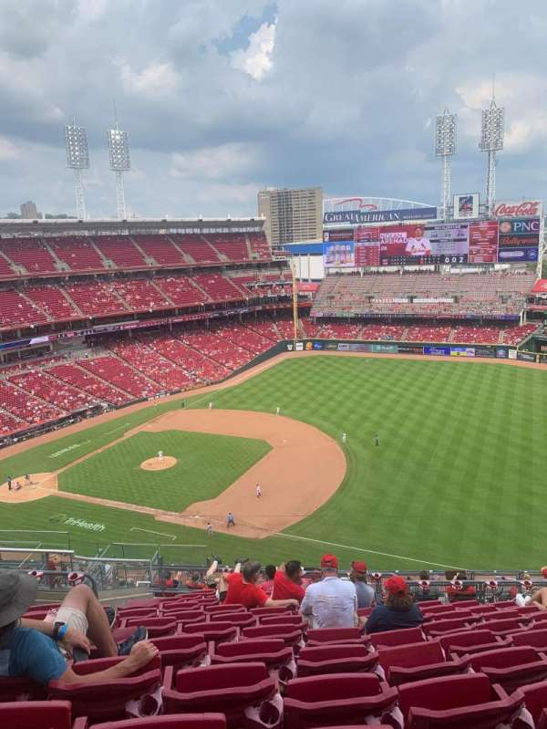 Great American Ball Park, section: 533, row: J, seat: 10