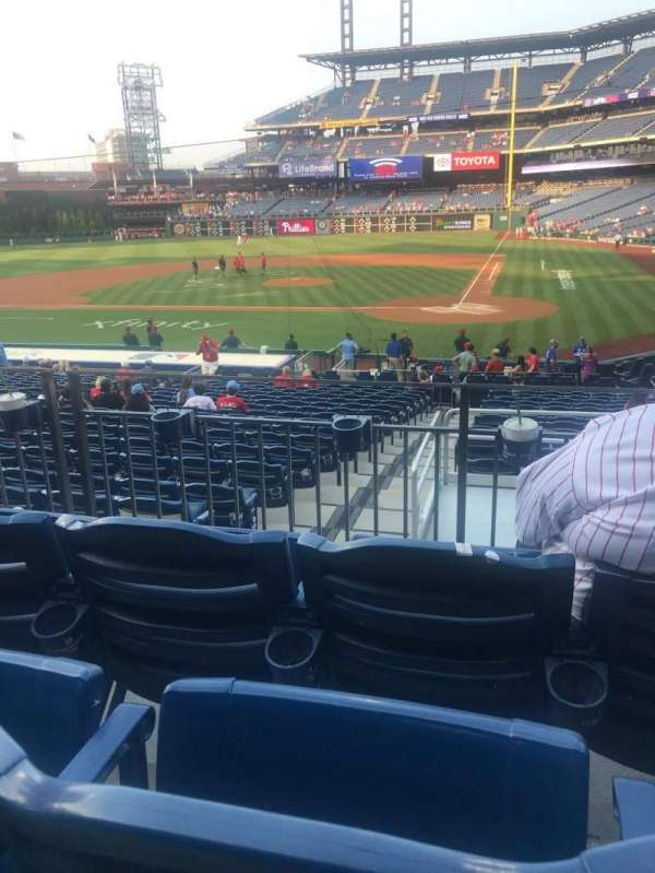 Citizens Bank Park, section: 127, row: 23, seat: 8