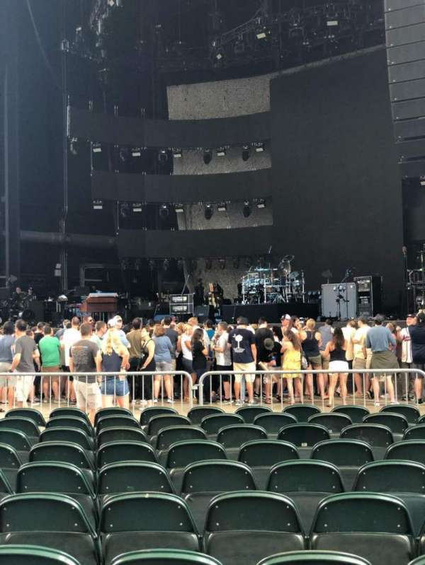 Ameris Bank Amphitheatre, section: ORCH 1, row: T, seat: 13