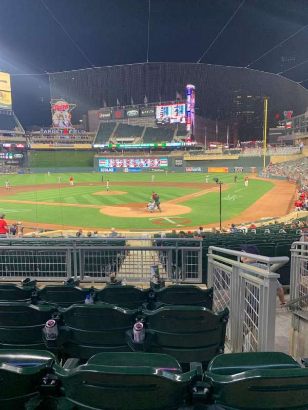 Target Field, section: 116, row: 5, seat: 1