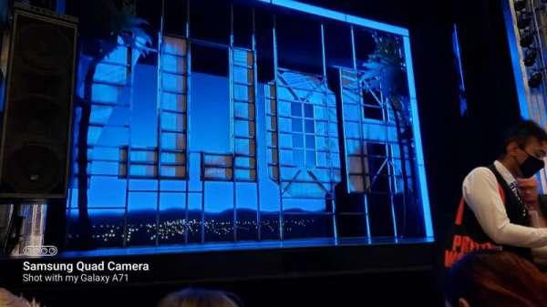 Savoy Theatre, section: Stalls, row: C, seat: 19