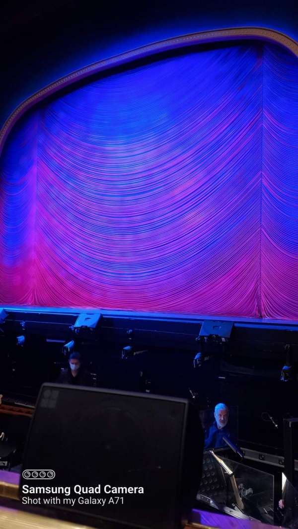 London Coliseum, section: Stalls, row: A, seat: 5