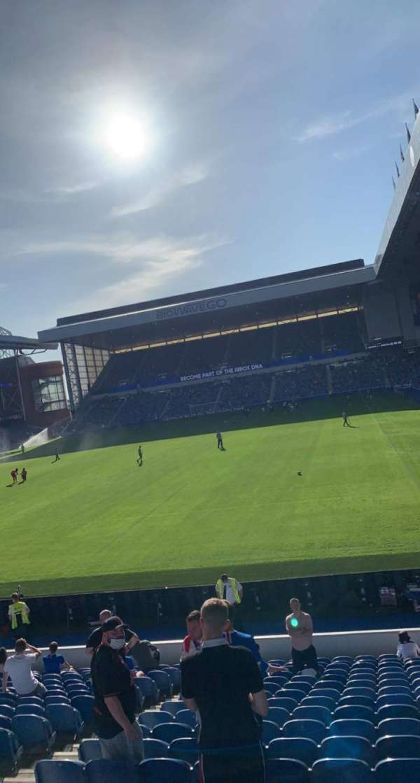 Ibrox Stadium, section: CF1, row: R, seat: 17