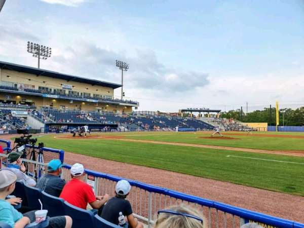 MGM Park, section: 107, row: C, seat: 1