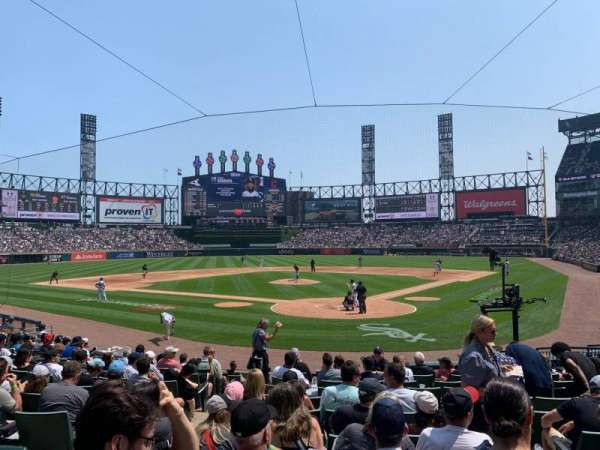 Guaranteed Rate Field, section: 133, row: 16, seat: 6