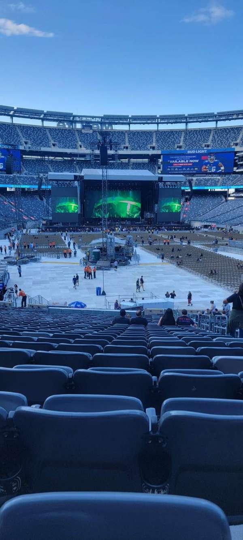 MetLife Stadium, section: 129, row: 36, seat: 1