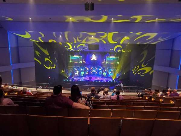 Ovens Auditorium, section: BALC, row: LL, seat: 106