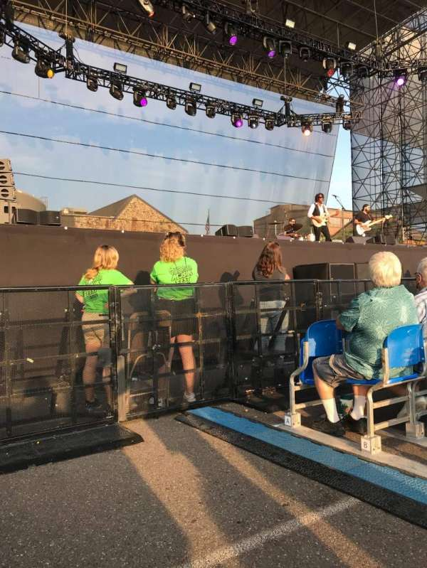 Wind Creek Steel Stage, section: 103, row: E, seat: 1