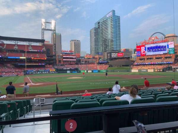 Busch Stadium, section: 147, row: 1, seat: 5