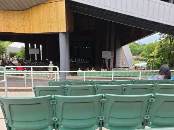 The Mann, section: Terrace 600, row: E, seat: 601