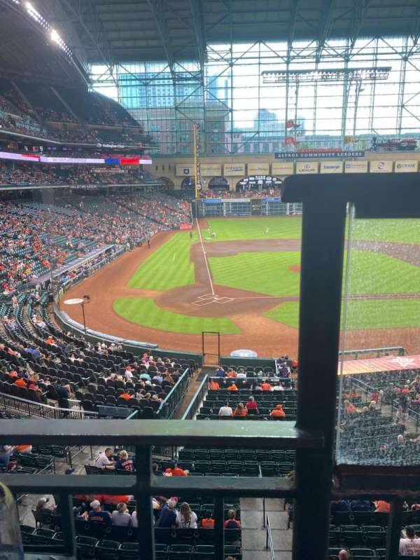 Minute Maid Park, section: 222, row: 1, seat: 14
