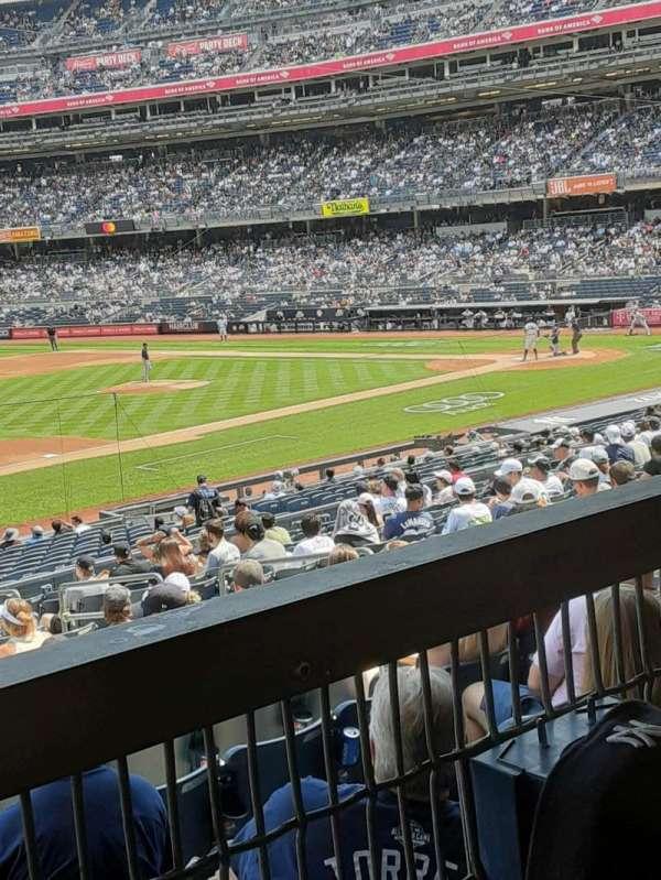 Yankee Stadium, section: 127A, row: 16W, seat: 10