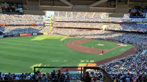 PETCO Park, section: TTS34, row: 1, seat: 1