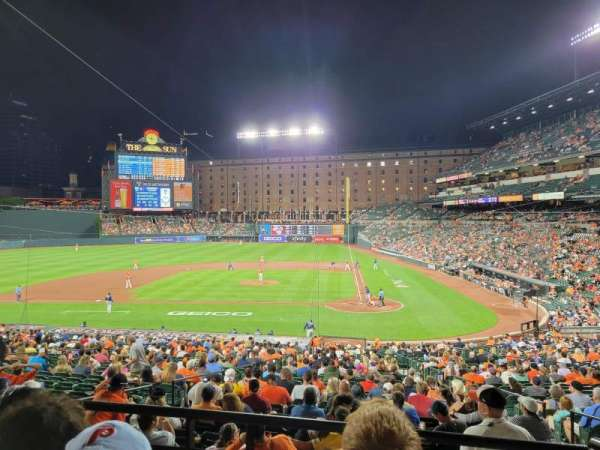 Oriole Park at Camden Yards, section: 47, row: 3, seat: 1