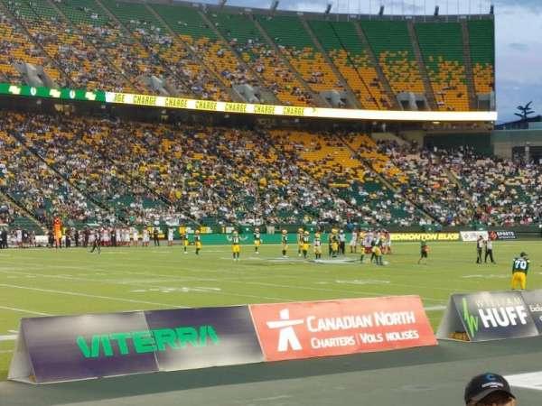 Commonwealth Stadium (Edmonton), section: L, row: 3, seat: 4