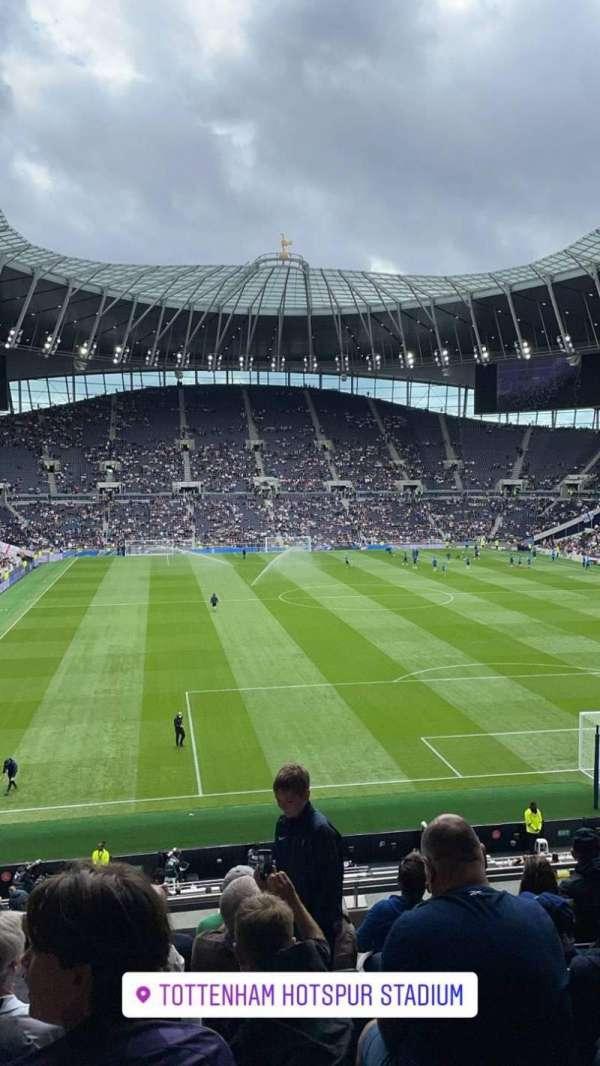 Tottenham Hotspur Stadium, section: 421, row: 7, seat: 415