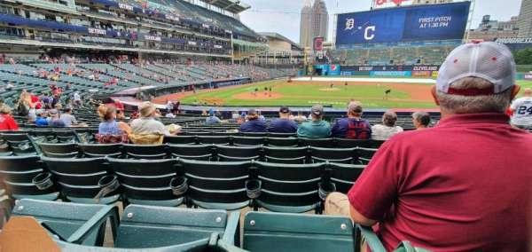 Progressive Field, section: 148, row: Z, seat: 5