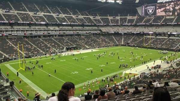 Allegiant Stadium, section: 243, row: 11, seat: 12