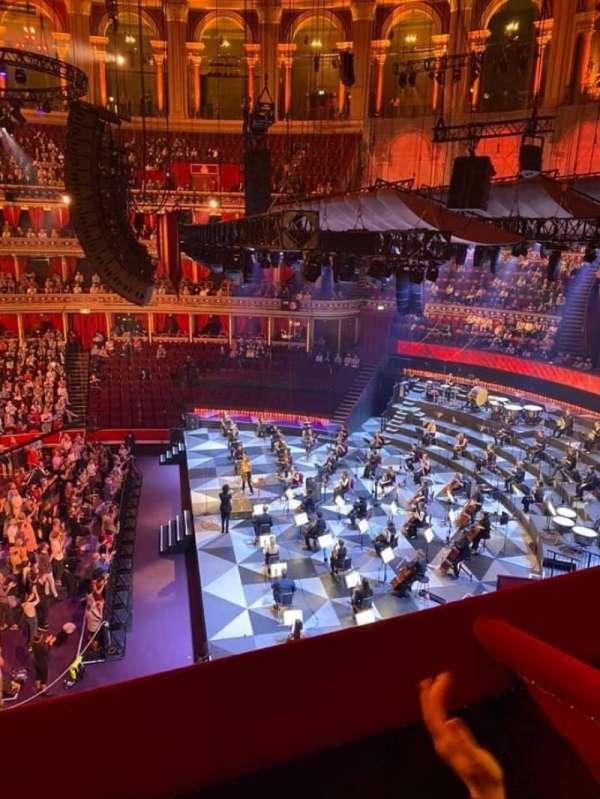Royal Albert Hall, section: Second Tier 77, row: Box, seat: 77