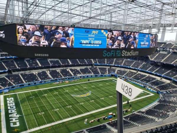 SoFi Stadium, section: 535, row: 1, seat: 1