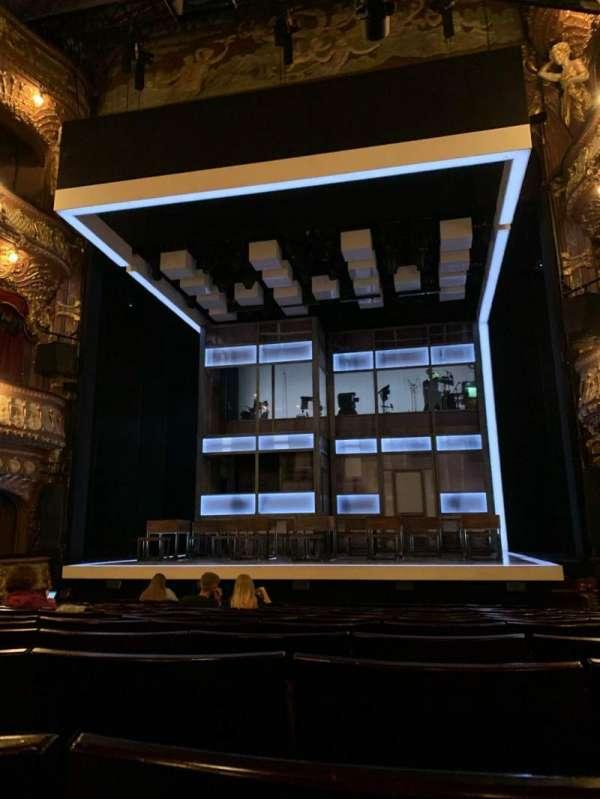 Apollo Theatre, section: Stalls, row: P, seat: 7