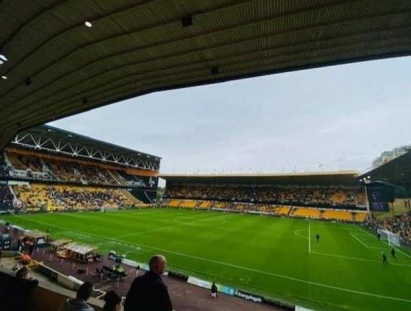 Molineux Stadium, section: W2, row: D, seat: 49