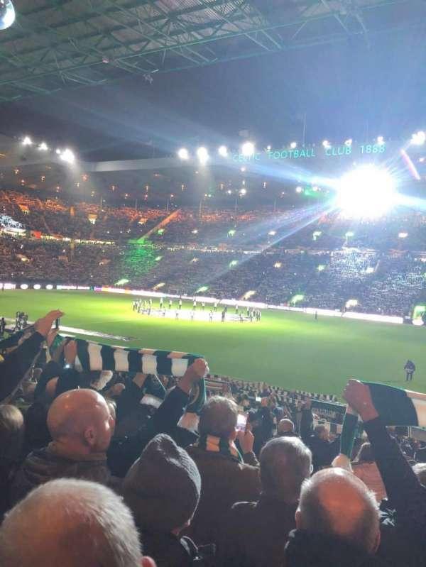 celtic park, section: ES1, row: G, seat: 56