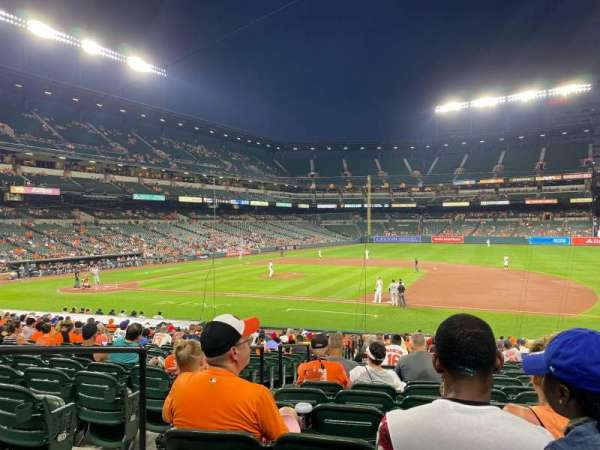 Oriole Park at Camden Yards, section: 18, row: 24, seat: 12