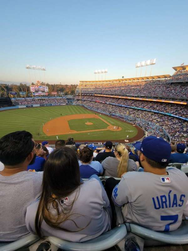 Dodger Stadium, section: 19RS, row: J, seat: 9