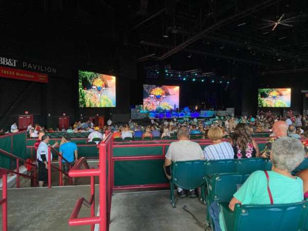 BB&T Pavilion, section: 203, row: F, seat: 30