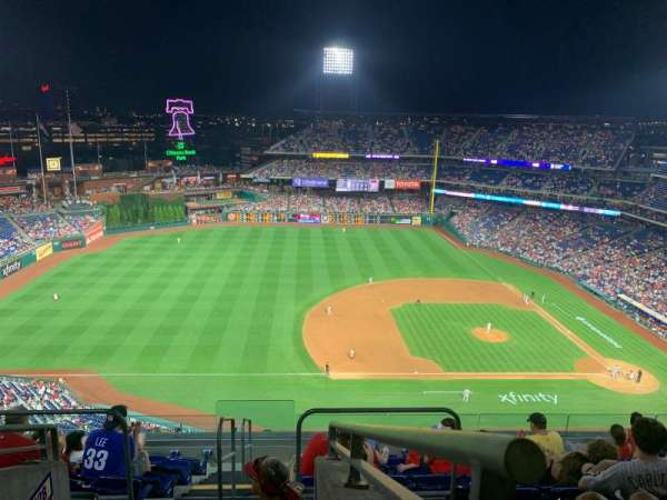 Citizens Bank Park, section: 427V, row: 9, seat: A