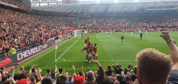 Old Trafford, section: N1403, row: LL, seat: 256
