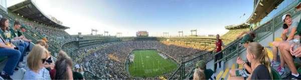 Lambeau Field, section: 746s, row: 5, seat: 13