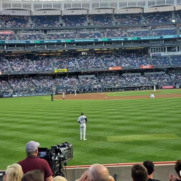 Yankee Stadium, section: 135, row: 8, seat: 21