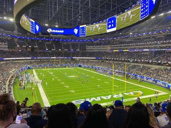 SoFi Stadium, section: 306, row: 16, seat: 14