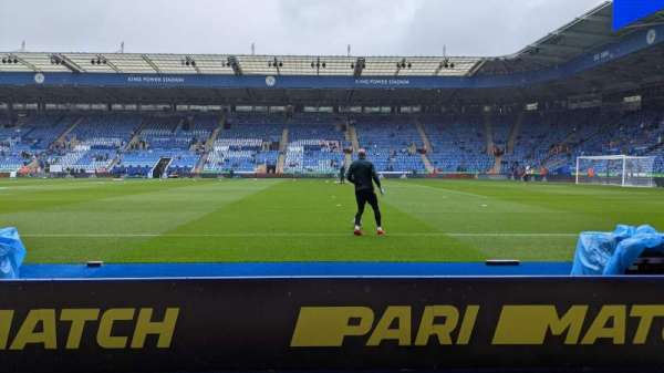 King Power Stadium, section: L1, row: A, seat: 282