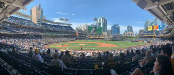 PETCO Park, section: 107, row: 32, seat: 13