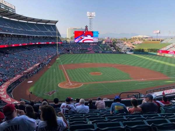 Angel Stadium, section: 330, row: H, seat: 6
