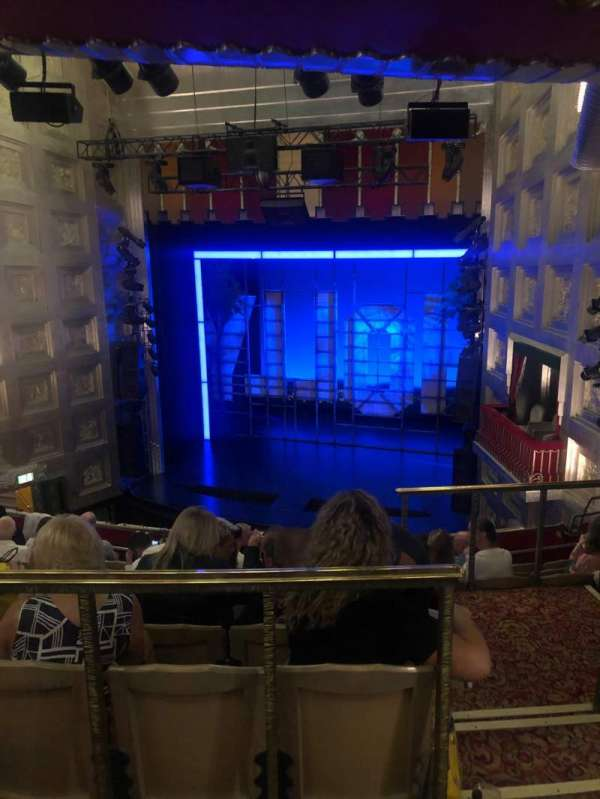Piccadilly Theatre, section: Dress Circle, row: G, seat: 4