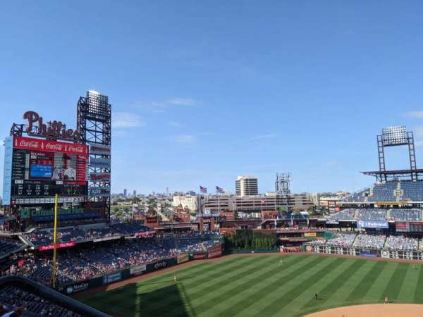 Citizens Bank Park, section: 325, row: 8, seat: 24