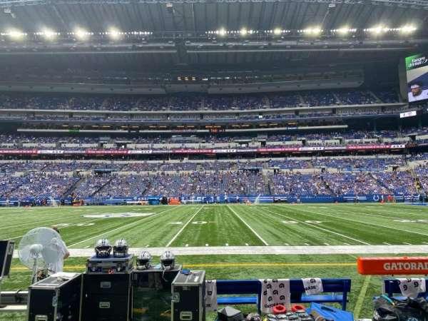 Lucas Oil Stadium, section: 112, row: 2, seat: 11